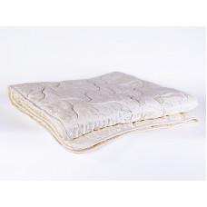 """Одеяло всесезонное """"Австралийская шерсть"""" 140х205, в чехле из хлопка с рельефным жаккардовым рисунком"""